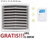 VOLCANO EUROHEAT VR1 nagrzewnica wodna 5-30 KW z konsolą + sterownik EC