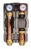 AFRISO Grupa pompowa PrimoTherm 180-1, DN 32, z przyłączami do zamontowania pompy 180 mm