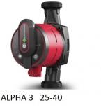 GRUNDFOS ALPHA3 25-40 elektroniczna pompa do C.O NOWOŚĆ