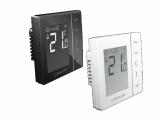 SALUS VS35B  Przewodowy cyfrowy regulator temperatury CZARNY