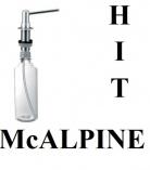 McALPINE dozownik do płynu MOSIĄDZ HC20-CPB chrom
