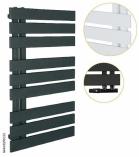INSTALPROJECT NAMELESS grzejnik łazienkowy 500x930 mm C33 BLACK STRUCTURE
