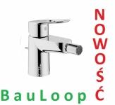 GROHE BauLoop jednouchwytowa bateria bidetowa 23338 000  CHROM NOWOŚĆ
