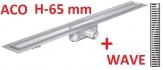 ACO odwodnienie prysznicowe h-65mm WAVE L-785