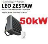 FLOWAIR nagrzewnica wodna 50,4 KW LEO L2  konsola i regulator gratis