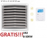 VOLCANO EUROHEAT VR2 nagrzewnica wodna 8-50 KW z konsolą + sterownik EC