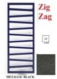 TERMA TECHNOLOGIE Zig Zag 835x500 Z8 GRZEJNIK ŁAZIENKOWY  METALIC BLACK