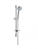 Zestaw prysznicowy Croma 100 Vario EcoSmart/ Unica'C 0,65 m chrom