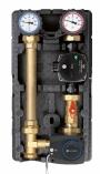 AFRISO Grupa pompowa PrimoTherm 180-2, DN25, pompa Grundfos Alpha 2, 3-drogowy zawór mieszający z siłownikiem
