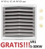 VOLCANO EUROHEAT VR1 nagrzewnica wodna 5-30 KW z konsolą nowy model z silnikiem EC