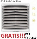 VOLCANO EUROHEAT VR3 nagrzewnica wodna 13-75 KW z konsolą nowy model z silnikiem EC