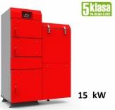 Heiztechnik HT EKO GL 15 kW kocioł podajnikowy 5 klasy do spalania ekogroszku