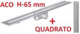 ACO odwodnienie prysznicowe h-65mm QUADRATO L-985