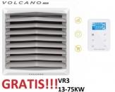 VOLCANO EUROHEAT VR3 nagrzewnica wodna 13-75 KW z konsolą + sterownik EC
