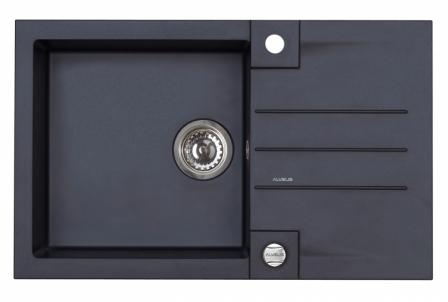 ALVEUS ROCK 130 zlewozmywak granitowy czarny 1203091