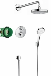 HANSGROHE Croma Select S Podtynkowy zestaw prysznicowy Croma Select S/ Ecostat S