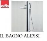 IL BAGNO ALESSI One by Oras (8550) Bateria wannowo-natryskowa z natryskiem (stojąca na podłodze).