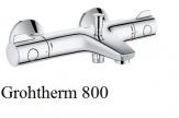 GROHE Grohtherm 800 bateria wannowa z termostatem, DN 15 CHROM