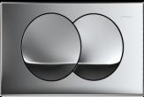 GEBERIT DELTA20 przycisk spłukujący do słpuczek delta20 CHROM BŁYSZCZĄCY