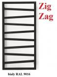 TERMA TECHNOLOGIE Zig Zag 835x500  GRZEJNIK ŁAZIENKOWY BIAŁY SX