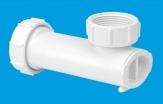 McAlpine syfon umywalkowy niski z samozamykajacą się membrana silikonowa WHB1-32