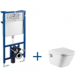 ROCA Stelaż podtynkowy PRO + miska WC podwieszana GAP , przekładka gratis