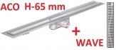 ACO odwodnienie prysznicowe h-65mm WAVE L-885