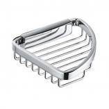 KLUDI A-XES półka metalowa narożna koszyk mydelniczka  CHROM