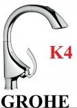 GROHE K4 BATERIA KUCHENNA WYC/WYL DN15 CHROM