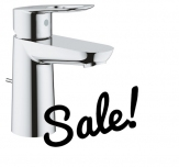 GROHE BauLoop Bateria umywalkowa, DN 15 Rozmiar S OUTLET