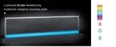 KESSEL SCADA odpływ liniowy ścienny model do wklejenia płytki z podświetleniem LED RGB