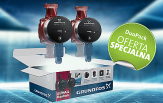 Grundfos DUO PACK pompa do C.O. ALPHA 2L 25-40