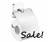 HANSGROHE PuraVida Uchwyt na papier toaletowy z osłonką OUTLET