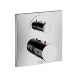 Axor Starck X Bateria termostatowa podtynkowa, z zaworem odcinającym, element zewnętrzny chrom