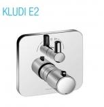 KLUDI E2 podtynkowa bateria wannowo-natryskowa z termostatem ELE / ZEW CHROM
