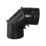 Kolano spalinowe regulowane do kotła węglowego , kominka 180mm