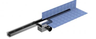 AQUA odwodnienie prysznicowe szczelinowe , nierdzewne h-68mm L-800mm