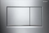 Przycisk uruchamiający Geberit Sigma30, przedni, chrom bł.-chrom mat-chrom bł.