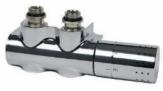 COMAP zestaw zawór termostatyczny 50 mm DUO z głowicą chrom