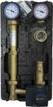 AFRISO  Grupa pompowa PrimoTherm 180-2 Vario DN25, bez pompy, zawór mieszający ARV KvsVario, siłownik ARM 343 ProClick