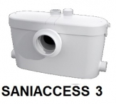 SFA SANIACCESS3 ROZDRABNIACZ DO WC + 3 umywalka ,prysznic , bidet itp