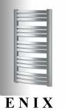 Enix QUATRO  grzejnik łazienkowy dekoracyjny Q-611 SILBER