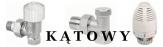 VALVEX Zestaw zawór termostatyczny+ głowica+ powrotny  kątowy