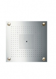 Axor Starck ShowerHeaven 720x720mm DN20 z oświetleniem stal szlachetna