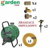 GARDEN  zestaw akcesoriów ogrodowych 11-elementowy mosiądz zraszacz impulsowy , zestaw do podlewania