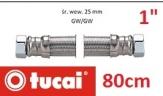 TUCAI przewód elastyczny do podłączenia hydroforów antywibracyjny