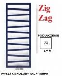 TERMA TECHNOLOGIE  Zig Zag 600x500 Z8 GRZEJNIK ŁAZIENKOWY WSZYSTKIE KOLORY RAL