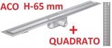 ACO odwodnienie prysznicowe h-65mm QUADRATO L-785