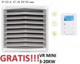 VOLCANO EUROHEAT VR MINI EC nagrzewnica wodna 3-20 KW z konsolą + sterownik EC