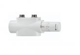 HEIMEIER  IMI MULTILUX 4  zestaw HALO  termostatyczny biały 50mm